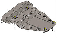 Защита двигателя Nissan Qashqai J10/Qashqai+2 NJ10 2006-2014 V-всі  двигун, КПП, радіатор