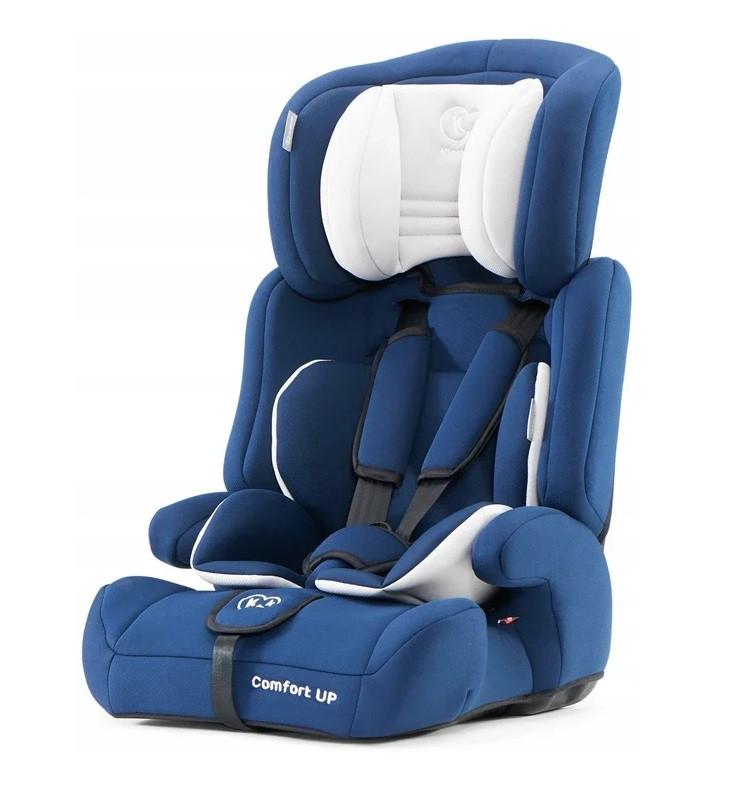 Автокресло Kinderkraft Comfort Up 9-36 кг, группа I,II, III  Цвет синий.