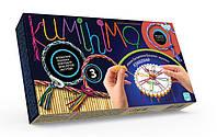 Детский набор для творчества Браслеты, плетение браслетов японская техника Кумихимо, микс видов, Украина
