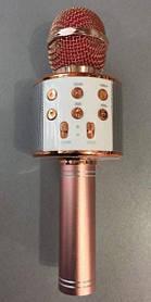 Мікрофон + караоке Bluetooth WS858