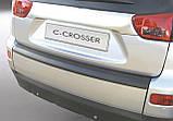 Пластиковая защитная накладка на нижнюю откидную заднюю дверь для Citroen C-Crosser 2007-2012, фото 3