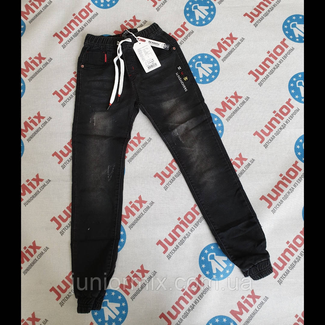 Детские   джинсы на манжетах оптом для мальчиков SEAGULL