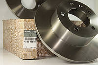 Диск тормозной задний на Рено Мастер III (комплект 2шт) - RENAULT (оригинал) 432000367R