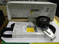 Комплект ремень+натяжной механизм+ролик (-AC) на Рено Кенго 1.4i/1.6i (97-2008) RENAULT (Оригинал) 7701477522