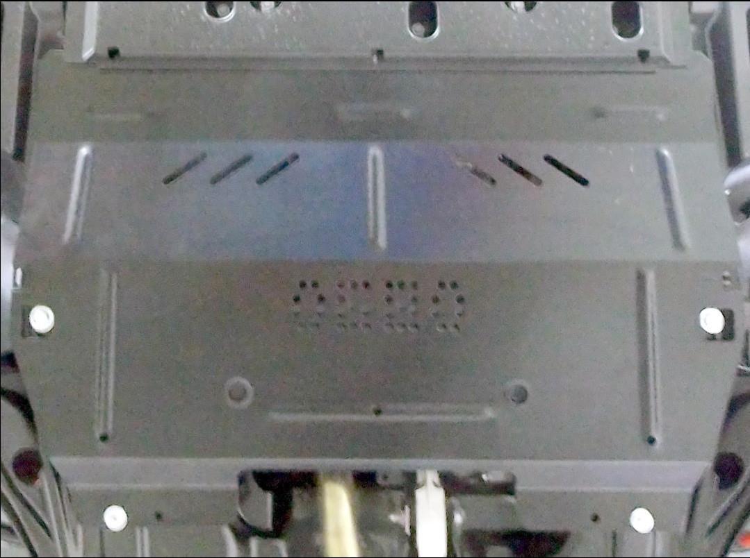 Защита двигателя Peugeot 2008 2016- V-1,2i робот двигун, КПП