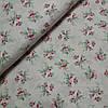 Бязь с букетиками на розовом, ширина 220 см