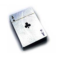 Пластикові карти з сріблястим покриттям