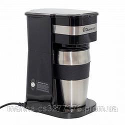 Капельная кофеварка DOMOTEC MS-0709 с металической кружкой #S/O