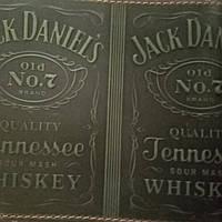 Кожаная обложка на паспорт Djak Daniel`s