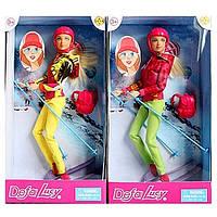 Кукла DEFA с лыжными аксессуарами (2 цвета) 8373