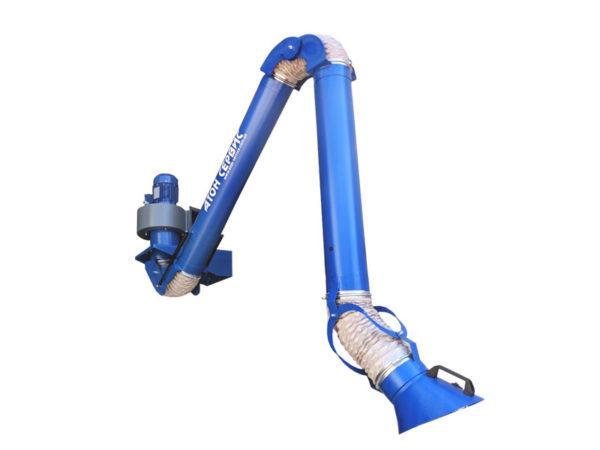 Поворотно вытяжное устройство для сварочного поста PVU 160.03