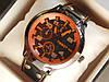 Мужские кварцевые наручные часы Tissot на кожаном ремешке