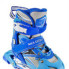 Роликовые коньки Nils Extreme NA0326A Size 38-41 Blue, фото 8