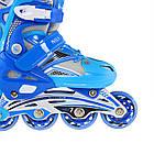 Роликовые коньки Nils Extreme NA0326A Size 38-41 Blue, фото 9