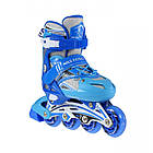 Роликовые коньки Nils Extreme NA0326A Size 38-41 Blue, фото 10