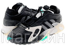 Мужские кроссовки Adidas Streetball Black/White/Aqua Адидас Стритбол черные, фото 2