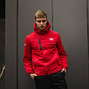 Демисезонная куртка мужская красная, Helly Hansen. Размер XL, фото 5
