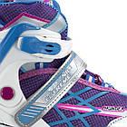 Роликовые коньки Nils Extreme NA1160A Size 39-42 Purple/Blue, фото 2
