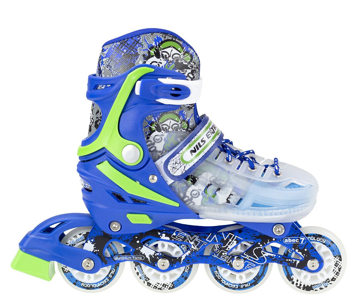 Роликовые коньки Nils Extreme NJ1812A Size 39-43 Blue