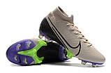 Бутсы Nike Mercurial Superfly VII Elite FG grey/ultrablue, фото 2