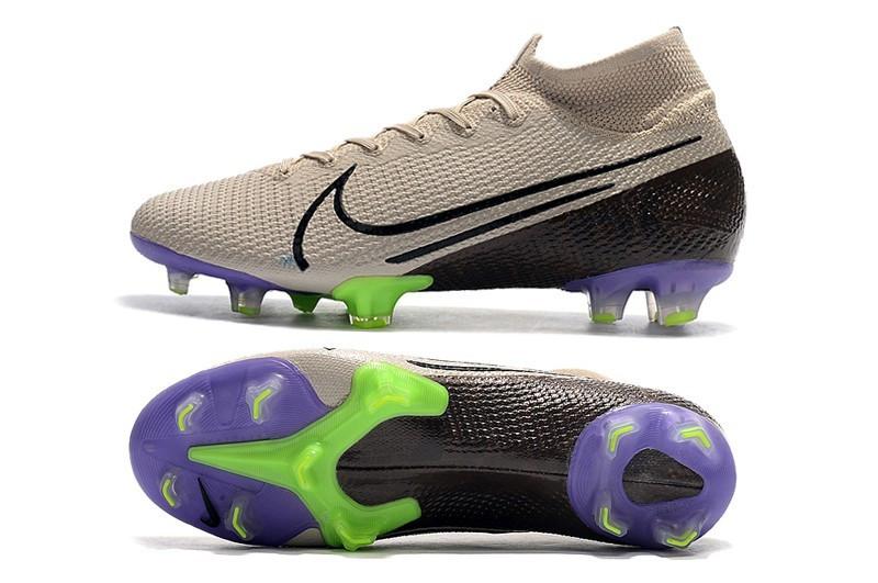 Бутсы Nike Mercurial Superfly VII Elite FG grey/ultrablue