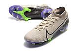Бутсы Nike Mercurial Superfly VII Elite FG grey/ultrablue, фото 6