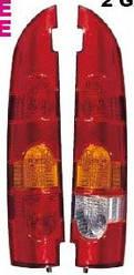 Фонарь задний (справа, роспашонка) на Рено Кенго (2003-2008) DEPO (Тайвань) 551-1939R-LD-UE
