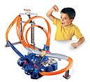 Хот Вілс Мега авто трек Віртуальна реальність Hot Wheels Triple Track Twister, фото 2