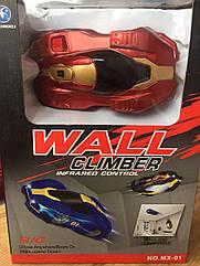 Антигравітаційна машинка Wall Climber S323 Червона
