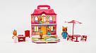 """Дом-чемодан """"Три кота"""" с ручкой. Игровой набор с героями мульсериала и аксессуарами scs, фото 2"""
