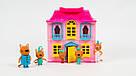 """Дом-чемодан """"Три кота"""" с ручкой. Игровой набор с героями мульсериала и аксессуарами scs, фото 6"""