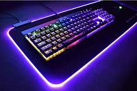 Игровая поверхность, коврик RGB Gaming Mouse Pad c подсветкой 780 x 300 мм