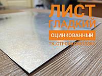 Лист гладкий  ОЦИНКОВАННЫЙ (1250*2000) Модуль Украина 0.65 мм