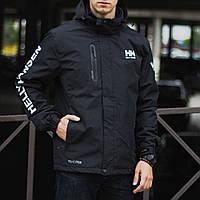 Демисезонная куртка мужская черная, Helly Hansen. Размер XXXL