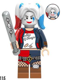 Фигурка Харли Квинн Harley Quinn DC Comics Super Heroes Суперзлодейка Аналог лего