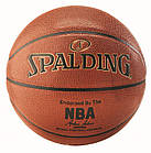 Мяч баскетбольный Spalding NBA Gold IN/OUT Size 7, фото 2