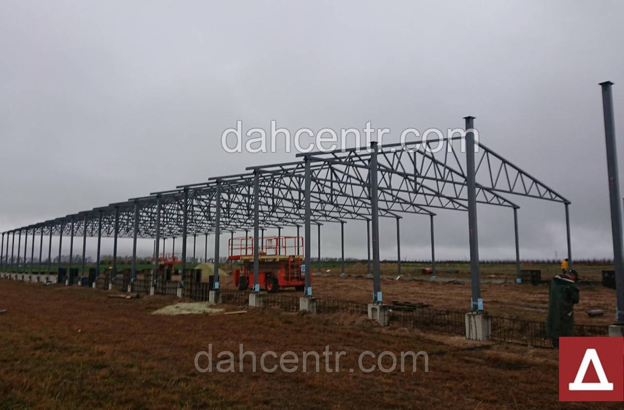 Производственные здания 18х60х5 - ангар склад цех - 1080кв.м