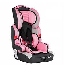 Автокресло Safety SABELT N-LINE 9-36 кг, 1/2/3 (розовое)