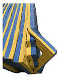 Килимок-пазл EVA, татамі ластівчин хвіст, жовто-блакитний, т. 20 мм, розмір 100х100 см, щільність 80 кг/м3, фото 4
