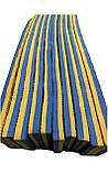 Килимок-пазл EVA, татамі ластівчин хвіст, жовто-блакитний, т. 20 мм, розмір 100х100 см, щільність 80 кг/м3, фото 5