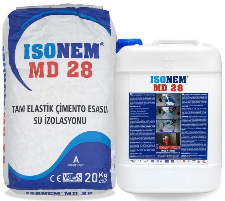 Isonem MD 28 (Гидроизоляция на цементной основе)