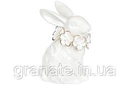 Декоративная фарфоровая фигурка Кролик 8см, 2шт