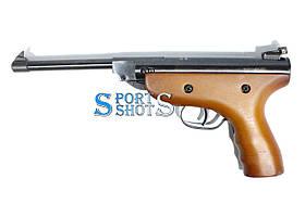 Пневматический пистолет Super Air Pistol S3 дерево