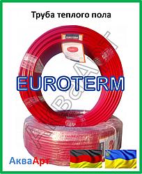 Труба для теплого пола EUROTERM standard 16х2 PE-RT oxygen barrier EVOH