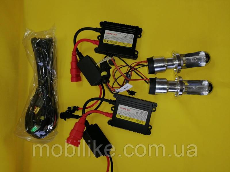 Качественный ксенон BOSCH HID H4 35W 5000K (Авто-Лампа)