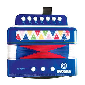 Дитячий акордеон ТМ Svoora синій, фото 2
