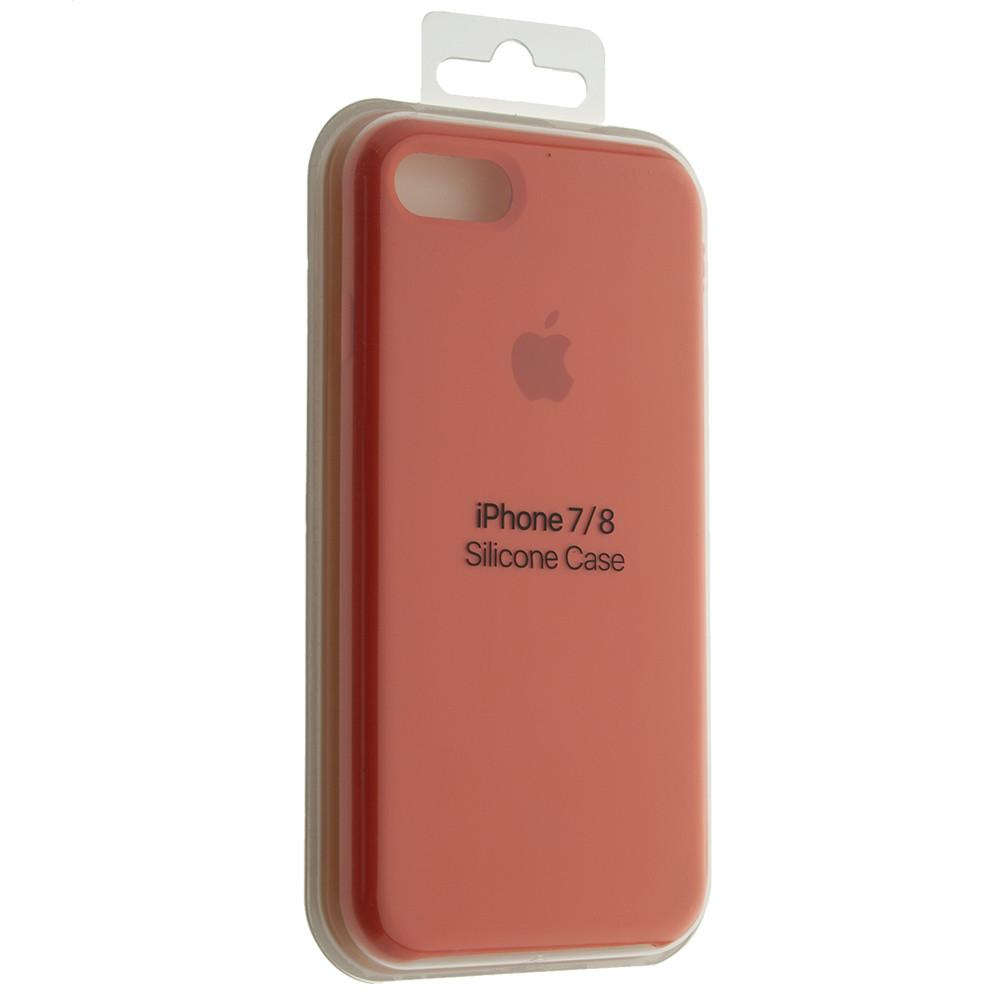 """Чехол Silicon iPhone 7 - """"Абрикос №2"""""""