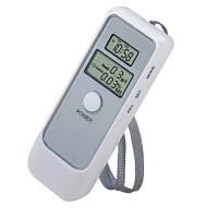 Цифровой алкотестер с LCD часами 6379