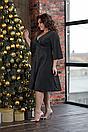 """Красивое женское люрексовое платье больших размеров """"Ярослава"""", фото 4"""