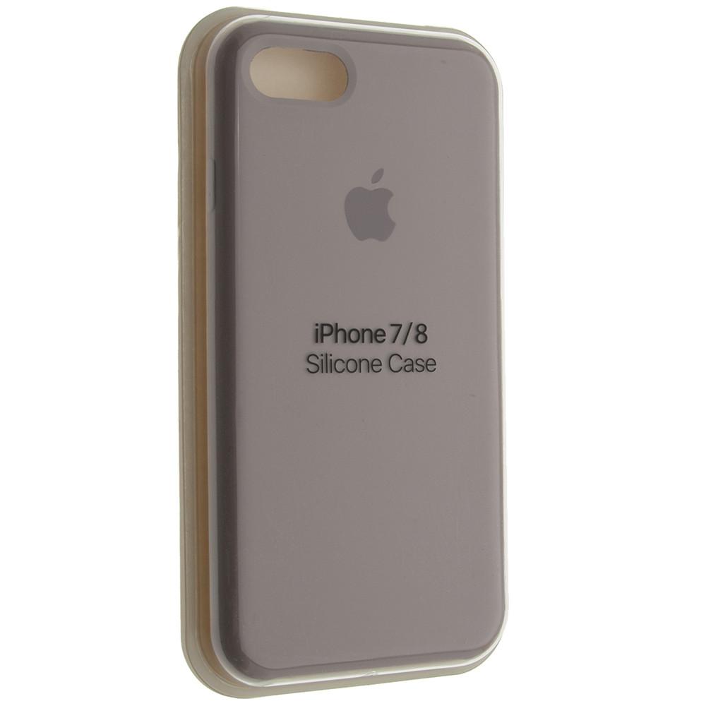 """Чехол Silicon iPhone 7 - """"Лаванда №7"""""""